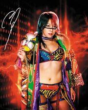 ASUKA #1 (WWE) - 10x8 PRE PRINTED LAB QUALITY PHOTO (SIGNED) (REPRINT)