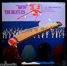 KOTO ENSEMBLE-Koto The Beatles-Rare Japan Beatles Cover Album-YUPITERU #YL-1035