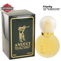 ANUCCI Cologne 3.3 3.4 oz EDT Spray for MEN by Anucci