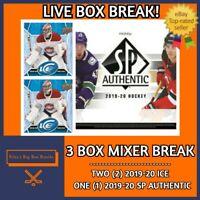 3 BOX MIXER BREAK - (x2) ICE & (x1) SP AUTHENTIC BREAK #51