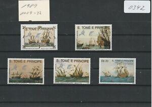 (0342) Sao Tomé und Principe 1989, Handelsschiffe