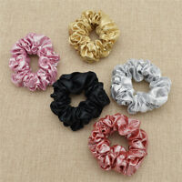Women Sequins Shiny Scrunchies Hair Band Hair Rope Elastic Hair Accessories Deco
