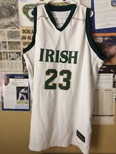 LeBron James #23 IRISH Sewn High School LE Basketball Jersey Size:60