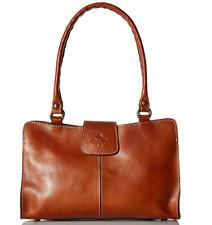 Patricia Nash Heritage Rienzo Tan Medium Satchel Leather P35701