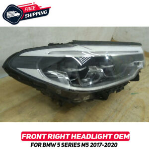 Front Right Headlight Lamp For BMW 5 Series G30 M5 F90 2017-2020 OEM Full Led