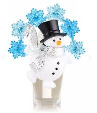 Bath & Body Works: BBW Festive Snowman Wallflower Fragrance Plug In Nightlight