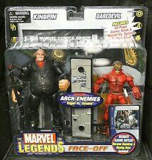 Marvel legends spider-man Kingpin construire une Figure Set of 7 New