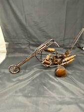 Scrap Metal Welded ART SCULPTURE~Motorcycle