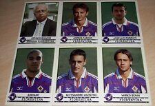 SET AGGIORNAMENTI FIGURINE CALCIATORI PANINI 2001/02 FIORENTINA ALBUM