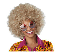 Adult Afro Foxy Lady Fro Disco Costume Wig