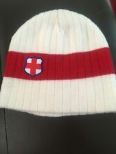 England 2010 Fifia World Cup Beanie Football South Africa Offical Hat Cap Soccer