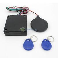 Car Engine Push Start Button/RFID Burglar Alarm Lock Keyless Entry Immobilizer S