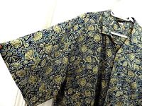 Toucan Dance Button Down Short Sleeve Shirt--size XL, great buttons & fish motif