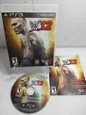PS3 WWE '12 Sony PlayStation 3  W12 - Complete w/Manual Ships Fast