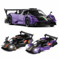 1:32 Pagani Zonda R Sports Car Model Car Metal Diecast Toy Vehicle Gift Kids