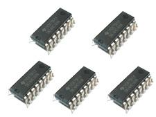 5 x 74hc165n 8-bit registro a scorrimento in parallelo e serial out dip-16
