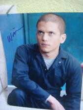 Photo Prison Break autographe signé Wentworth Miller Michael Scofield  COA