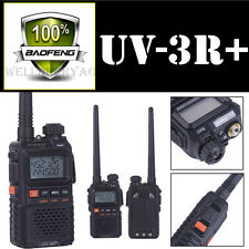 Baofeng UV-3R+ Plus Handheld Walkie Talkie VHF/UHF Dual Band Ham Two Way Radio