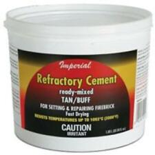 Imperial KK0308 Refractory Cement, 128 Ounce