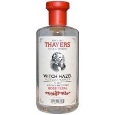 Thayers Rose Petal Witch Hazel Alcohol-Free Toner with Aloe Vera 12 oz (2 pack)