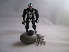 Spider-Man Black Suit Venom+Squirting Liquid Alien by Marvel Toy Biz 1991 Nice!