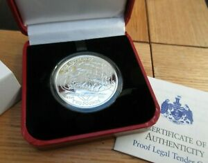2019 CUTTY SARK 1OZ SILVER PROOF £2 COIN BRITISH INDIAN OCEAN TERRITORY