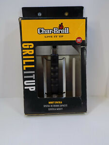 """Char-Broil Huge 10"""" Wide MIGHTY GRILL SPATULA, Stainless Steel Model #2326033"""