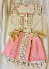 NINI SPANISH DESIGNER SKIRT & TOP OUTFIT AGE 6 STUNNING! NWOT! VERY ROMANY!