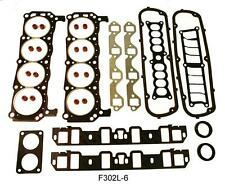 Complete Gasket And Seal Set Ford 302 with 1 Piece Rear Seal