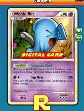 ptcgo in Game Card Wobbuffet Playset 4x Shady Tail - for Pokemon TCG Online
