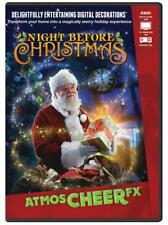 ATMOSCHEER FX NIGHT BEFORE CHRISTMAS PROJECTOR DVD DECOR WINDOW DISPLAY ANIMATED