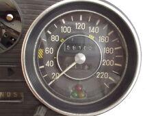 Tachometer bis 220 Km mit 3 eingebauten Kontrolleuchten f. Mercedes /8 W108 W109