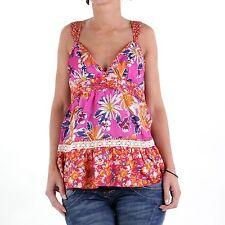 Women's Floral Silk Tops & Shirts
