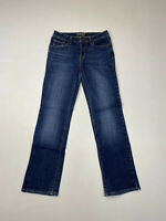 LEVI'S DEMI CURVE STRAIGHT Jeans - W27 L32 - Navy - Great Condition - Women's