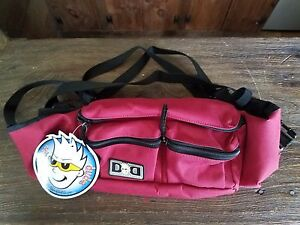 NWT Diaper Dude Diaper Messenger Bag Brick Red Fanny Pack Brand New with Tags