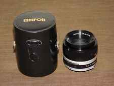 VINTAGE PHOTOGRAPHY FILM CAMERA ZOOM LENS AUTO TAMRON 1:2.8