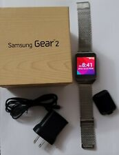 SAMSUNG GEAR 2 SMARTWATCH CHARCOAL BLACK USED WITH BOX