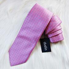 DUSTIN de EL CORTE INGLES Corbata rosa 100% seda. Nueva