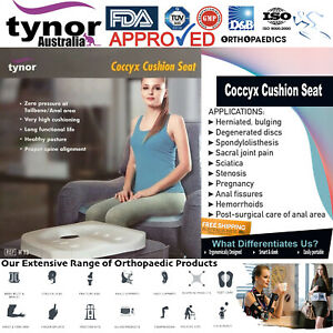 Tynor™ Coccyx Cushion Seat Office Chair for Tailbone Sciatica & Back Pain Relief