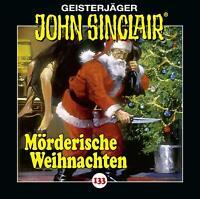 JOHN SINCLAIR - 133/MÖRDERISCHE WEIHNACHTEN   CD NEU