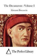 The Decameron - Volume I by Giovanni Boccaccio (2015, Paperback)