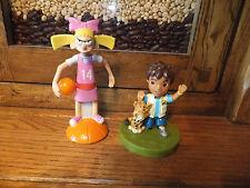 Viacom Toys - Helga Basketball Girl 2003 Hey Arnold Wendys & Dora Explorer Diego