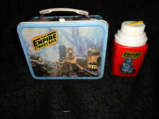 Vintage Star Wars The Empire Strikes Back ESB Lunchbox & Thermos - FREE SHIPPING