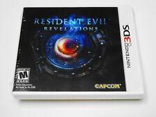 💀 RESIDENT EVIL: REVELATIONS 💥 (Nintendo 3DS) CIB BRAND NEW SEALED ☠️ RARE RPG