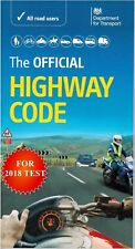 The Official Highway Code 2018 DSA Brand New Latest Edition For Theory Test-Hw
