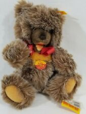 "LM VINTAGE Steiff 0305/30 11"" Zotty Teddy Bear Jointed Squeaker Tipped Mohair NW"