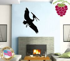 Wall Stickers Vinyl Decal Nursery Pterodactyl Dinosaur Animals For Kids ig803