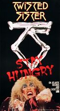 Twisted Sister 1984 Stay Hungry Original Vintage Promo Poster