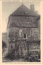 70 - cpa - VAUVILLERS - Maison natale du Cardinal Sommier  (2289)
