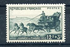 STAMP / TIMBRE FRANCE NEUF N° 919 * JOURNEE DU TIMBRE / MALE POSTE